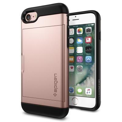 iPhone8/7 ケース Spigen Slim Armor CS ローズゴールド iPhone 8/7_0