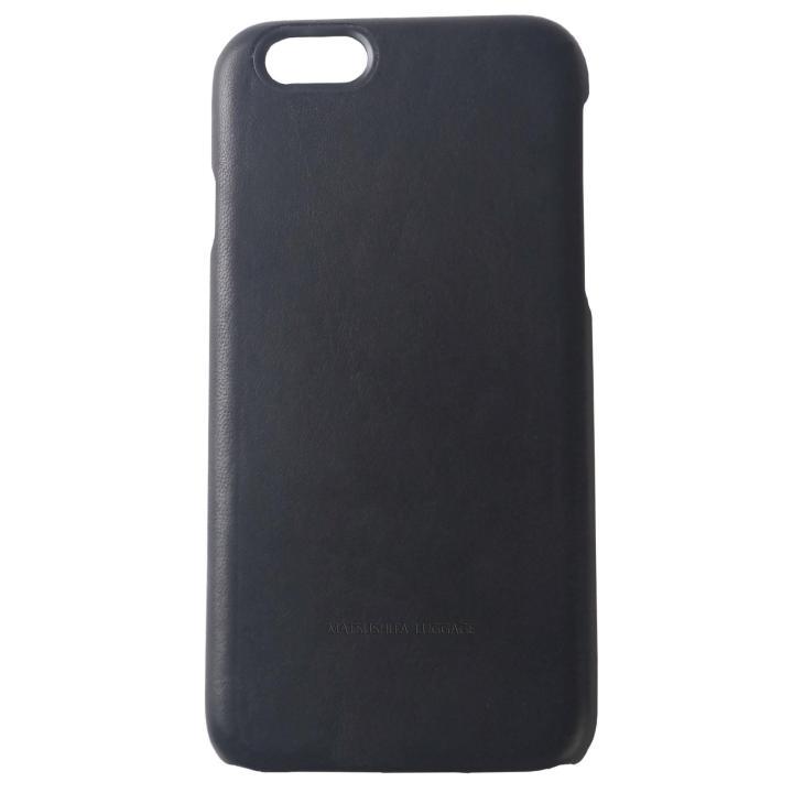 【iPhone6s/6ケース】エチオピアハイランドレザーケース ブラック iPhone 6s/6_0