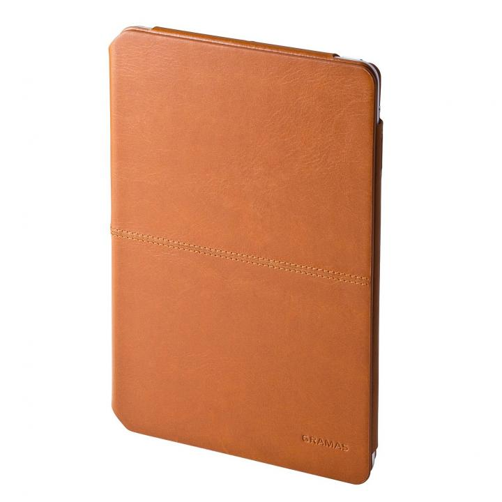 GRAMAS Tablet Leather Case TC484  タン iPad mini/2/3ケース_0