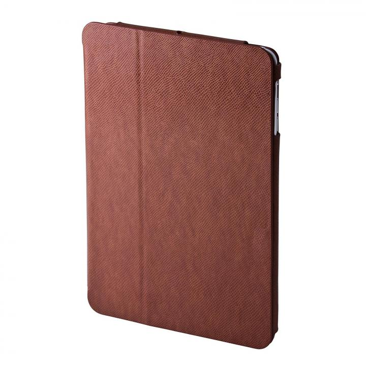 PRECISION iPad mini/2/3対応 PUレザーケース チョコレート_0
