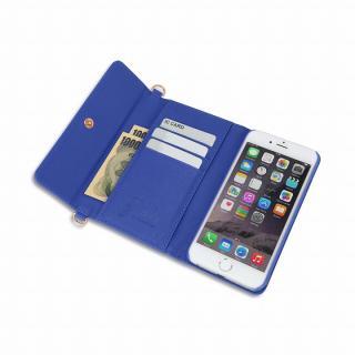 【iPhone6ケース】Julia PhonePochette 手帳型ケース ブルー iPhone 6_2