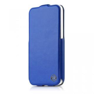 Plume iPhone5c ブルー 縦開きケース