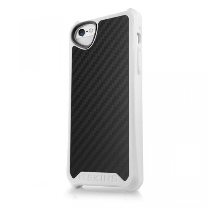 【iPhone SE/5s/5ケース】Atom Matt Carbon iPhone SE/5s/5 ホワイト_0