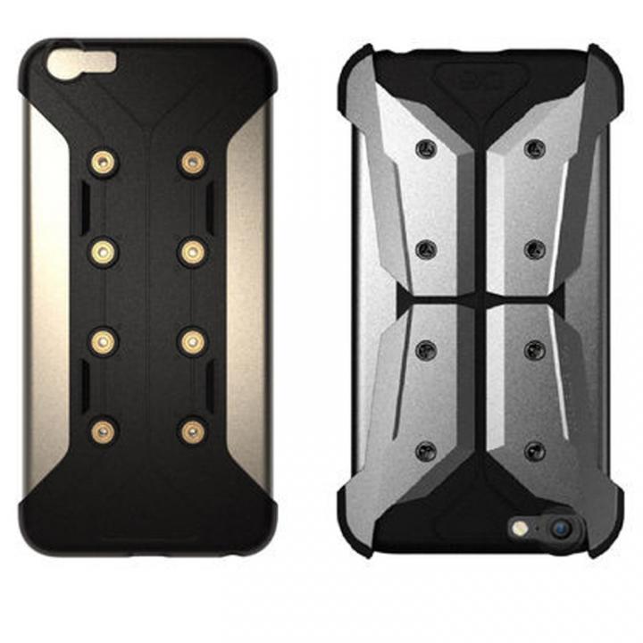 【iPhone6s/6ケース】CORE SUIT Armaor Metal Delux シルバー iPhone 6s/6_0