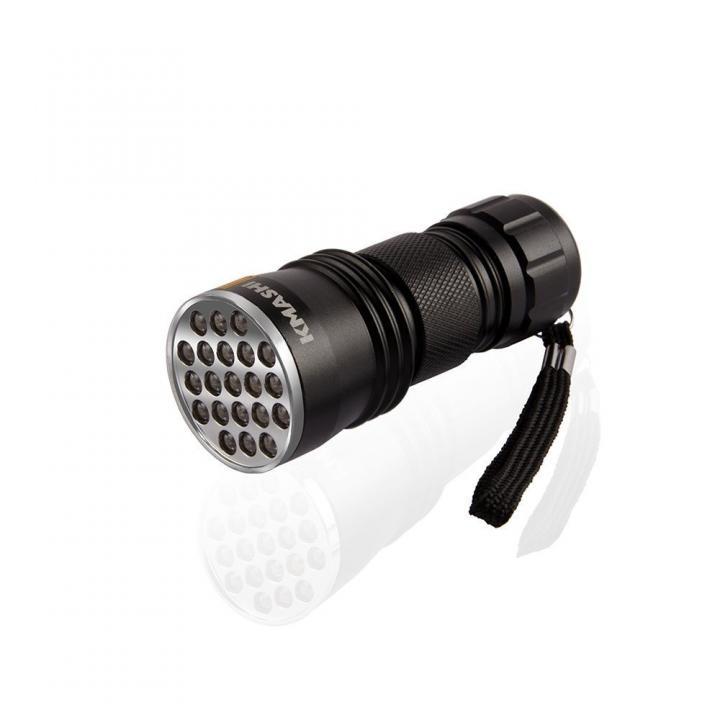 紫外線懐中電灯 携帯用 21灯_0