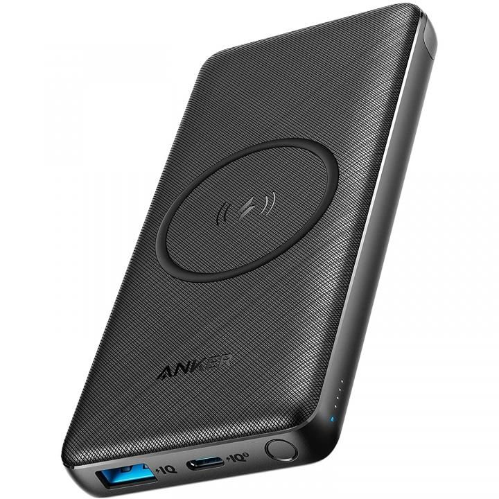 Anker PowerCore III 10000 Wireless モバイルバッテリー Qi充電器 ブラック【8月上旬】_0