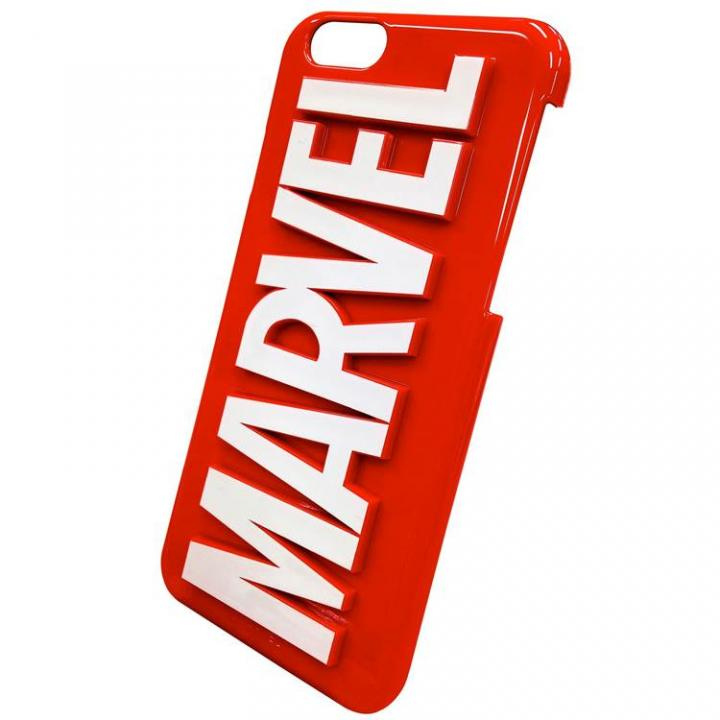 【iPhone6ケース】マーベル 3Dハードケース ロゴ iPhone 6_0