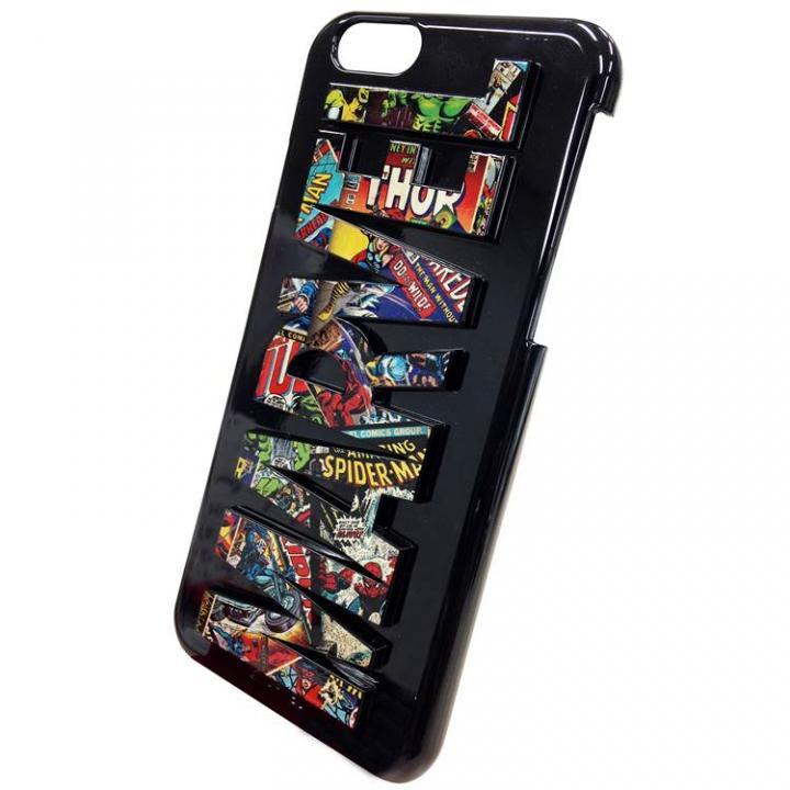 マーベル 3Dハードケース コミックス iPhone 6