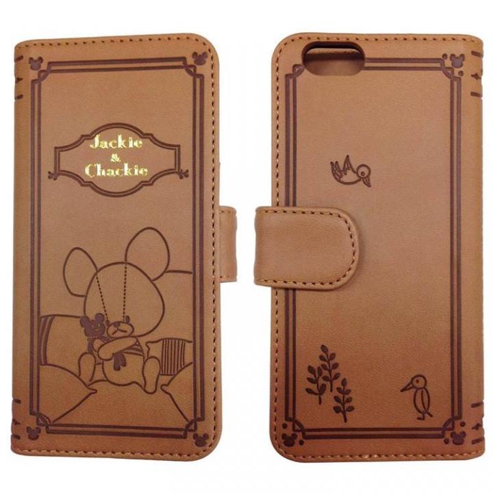 【iPhone6ケース】くまのがっこう PUレザー手帳型ケース 抱きしめ iPhone 6s/6_0