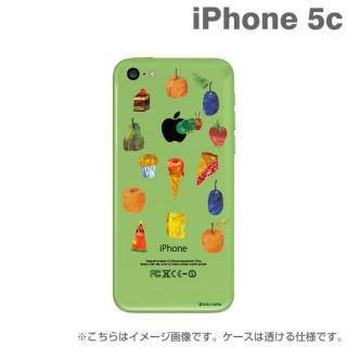 エリック・カール はらぺこあおむしケース たくさんのたべもの iPhone5c