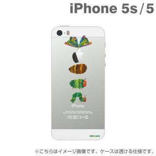 エリック・カール はらぺこあおむしケース せいちょう iPhone SE/5s/5