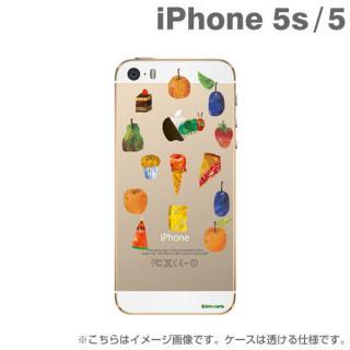 エリック・カール はらぺこあおむしケース たくさんのたべもの iPhone SE/5s/5
