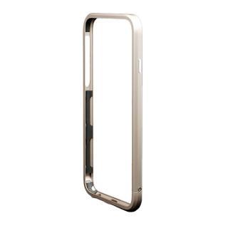 iPhone6s/6 ケース アルミバンパー M's Select. カメラリング付き ゴールド iPhone 6s/6