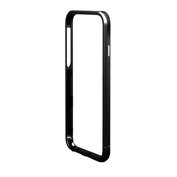 iPhone6s/6 ケース アルミバンパー M's Select. カメラリング付き ブラック iPhone 6s/6_0