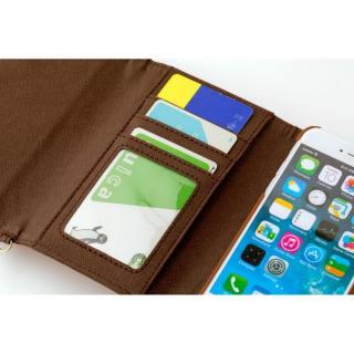 【iPhone6ケース】スイートポシェット型ケース リボン ストロベリー&チョコ iPhone 6_4