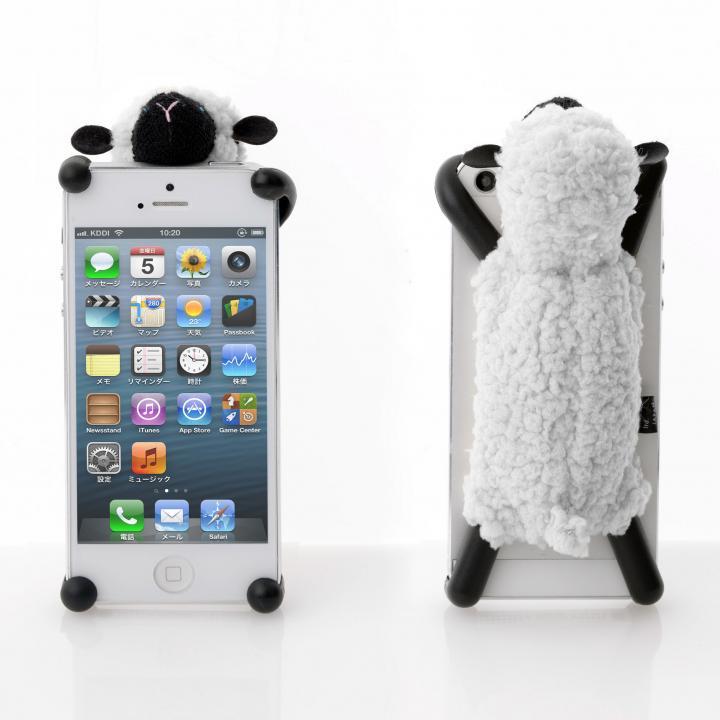 iPhone SE/5s/5 ケース SHEEPY  iPhone SE/5s/5/5c グレイ_0