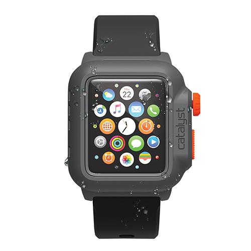 Catalyst(カタリスト) 完全防水 Apple Watch 42mmケース CT-WPAW15  ブラックオレンジ_0