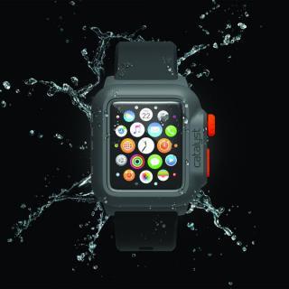 Catalyst(カタリスト) 完全防水 Apple Watch 42mmケース CT-WPAW15  ブラックオレンジ_1