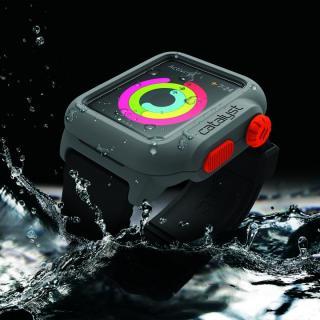 Catalyst(カタリスト) 完全防水 Apple Watch 42mmケース CT-WPAW15  ブラックオレンジ_2