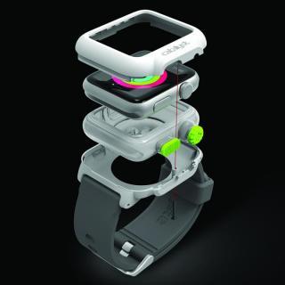 Catalyst(カタリスト) 完全防水 Apple Watch 42mmケース CT-WPAW15  ブラックオレンジ_3