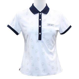 リンゴル ソウガラ 半袖 カノコ ポロシャツ Sサイズ ホワイト