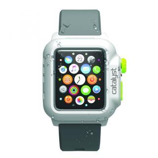 Catalyst(カタリスト) 完全防水 Apple Watch 42mmケース CT-WPAW15  ホワイトグリーン
