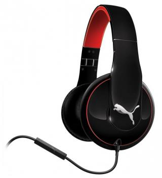 PUMA オーバーイヤーヘッドフォン VORTICE OVER EAR+ MIC BLK
