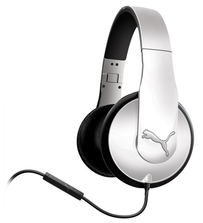 PUMA オーバーイヤーヘッドフォン VORTICE OVER EAR+ MIC WHT_0