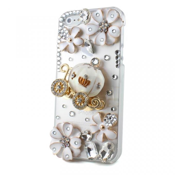 【iPhone SE/5s/5ケース】デコケースシンデレラの馬車  iPhone SE/5s/5_0