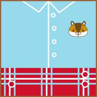 紙兎ロペ ミニタオル(ジャカード織) アキラ先輩
