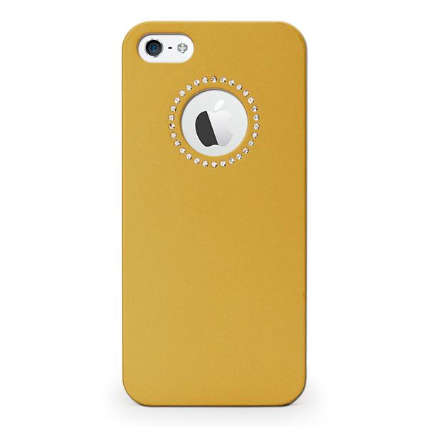【iPhone SE/5s/5ケース】inCUTOUT  切り絵スタイルのiPhone SE/5s/5ケース SWALOVSKI ゴールド_0