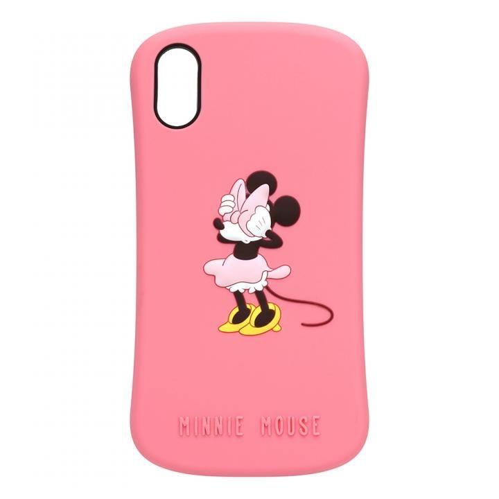 iPhone XS/X ケース iJacket シリコンケース ミニーマウス iPhone XS/X_0