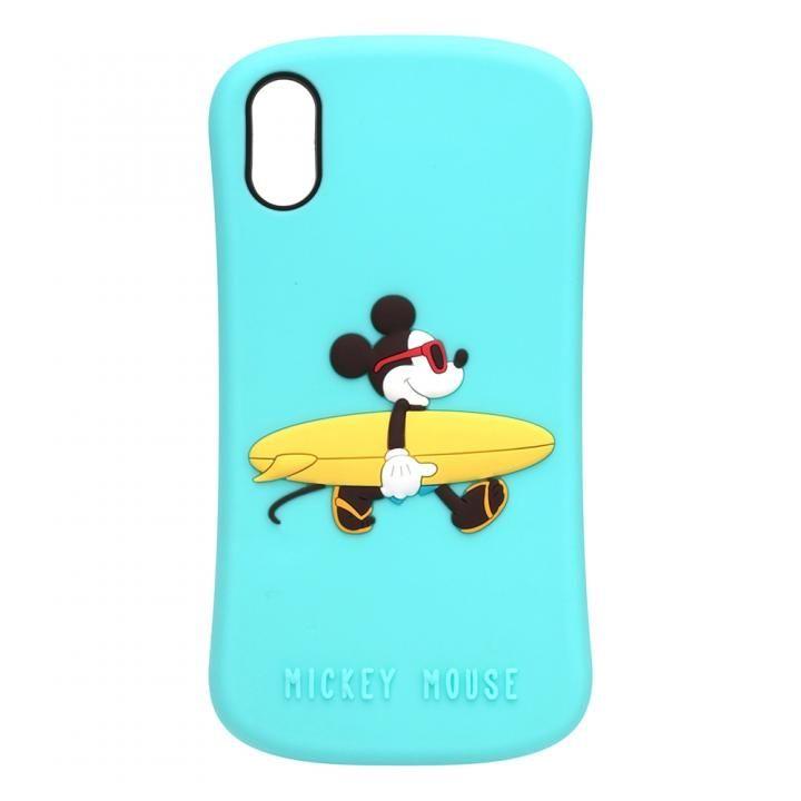 iPhone XS/X ケース iJacket シリコンケース ミッキーマウス iPhone XS/X_0