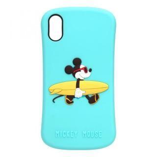 iPhone XS/X ケース iJacket シリコンケース ミッキーマウス iPhone XS/X