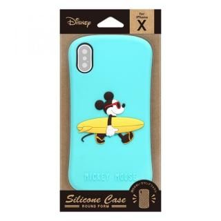 【iPhone XS/Xケース】iJacket シリコンケース ミッキーマウス iPhone XS/X_2