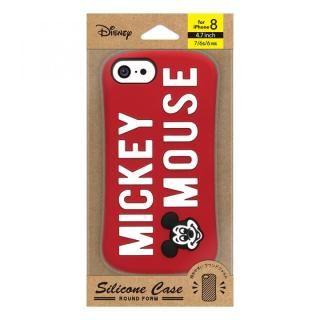 【iPhone8/7/6s/6ケース】iJacket シリコンケース ミッキーマウス/レッド iPhone 8/7/6s/6_2