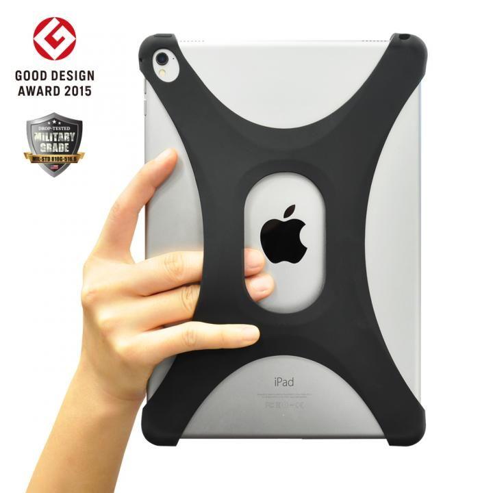 Palmo 落下防止シリコンケース iPad Air/Air2/Pro 9.7 ブラック_0