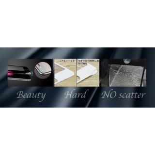 【iPhone7フィルム】[0.33mm]リアルシールド・プレミアム 匠の技 強化ガラス ブラック iPhone 7_3
