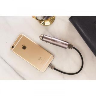 バッテリー内蔵USBカーチャージャー Life2Go イエローゴールド_4