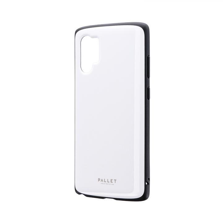 Galaxy Note 10+ SC-01M/SCV45 超軽量・極薄・耐衝撃ハイブリッドケース「PALLET AIR」 ホワイト_0