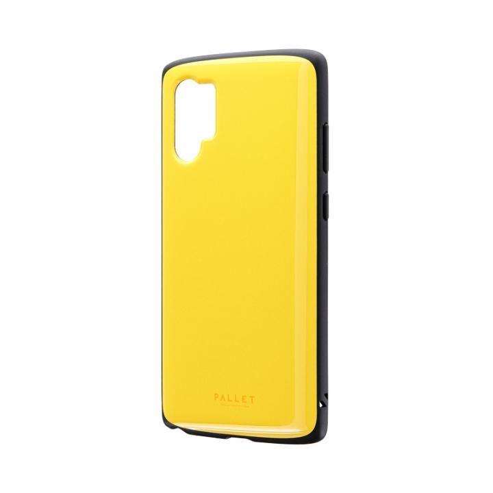 Galaxy Note 10+ SC-01M/SCV45 超軽量・極薄・耐衝撃ハイブリッドケース「PALLET AIR」 イエロー_0