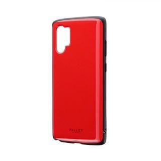 Galaxy Note 10+ SC-01M/SCV45 超軽量・極薄・耐衝撃ハイブリッドケース「PALLET AIR」 レッド