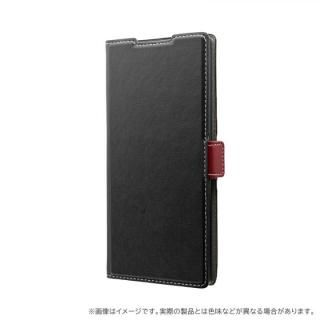 Galaxy Note 10+ SC-01M/SCV45 薄型軽量PUレザーフラップケース「PIECE」 ブラック