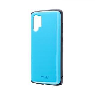 Galaxy Note 10+ SC-01M/SCV45 超軽量・極薄・耐衝撃ハイブリッドケース「PALLET AIR」 スカイブルー