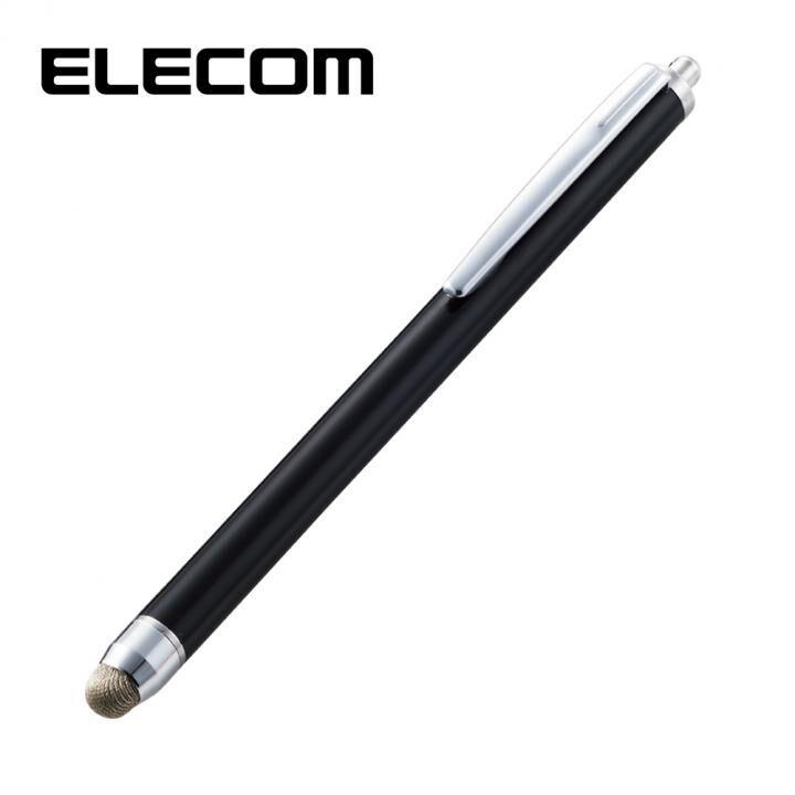 スタンダード導電繊維タッチペン ブラック_0
