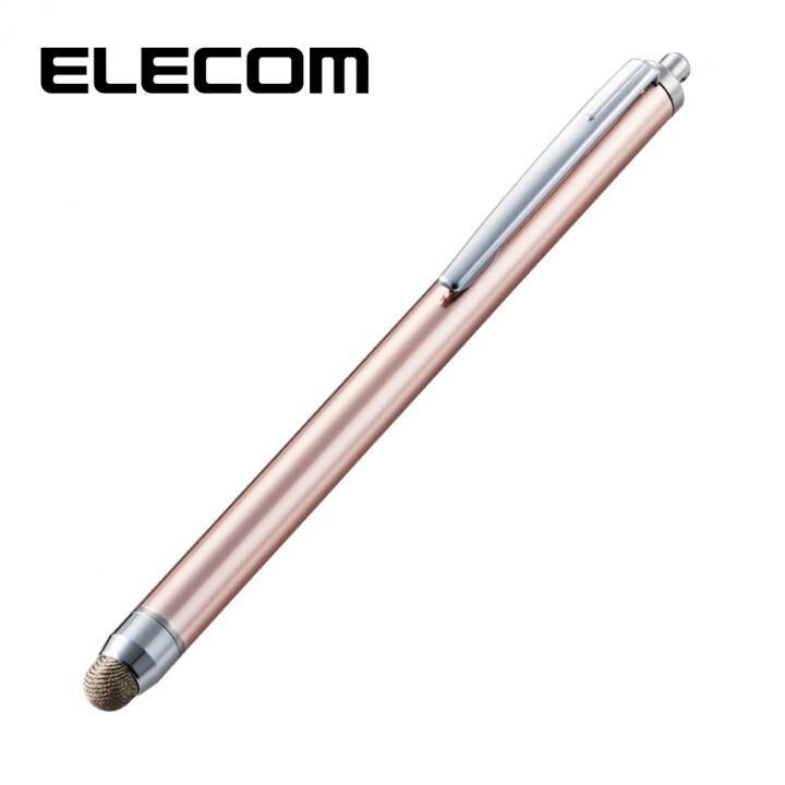 スタンダード導電繊維タッチペン ピンク_0