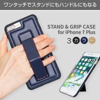 【iPhone7 Plusケース】BOB Plus STAND & GRIP ケース ブラック iPhone 7 Plus_2