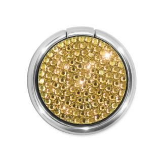 [新iPhone記念特価]Smart Ring スマホリング ラインストーン ゴールド