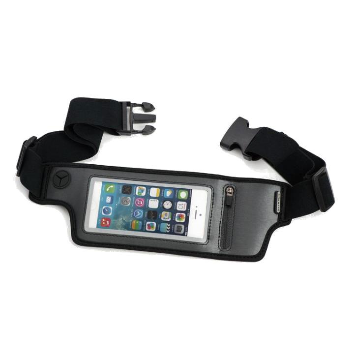 iPhone SE/5s/5 ケース TUNEWEAR iPhone用ウエストポーチ JOGPOCKET (Black)_0