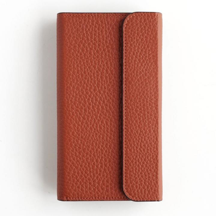 【iPhone6s/6ケース】invite.L Secure ドイツ製本革手帳型ケース ブラウン iPhone 6s/6_0